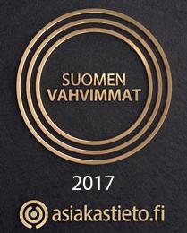 Maanrakennus Terho Virtanen Oy - Suomen Vahvimmat 2017